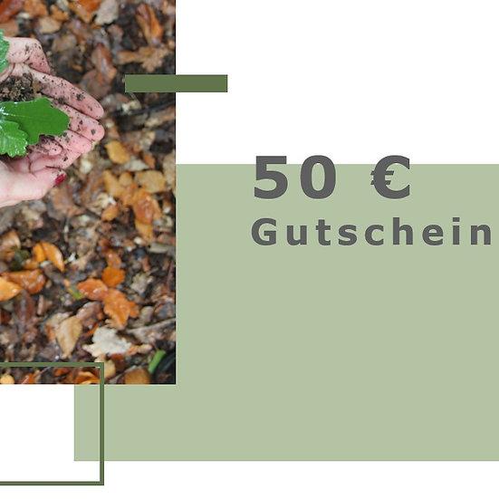 Gutschein für 50€