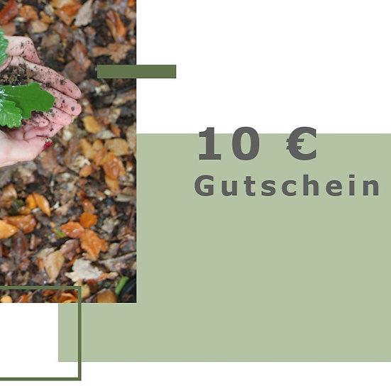 Gutschein für 10€