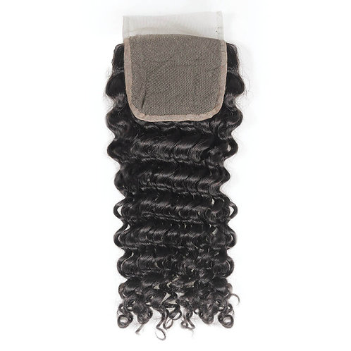 5x5 Raw Indian Curly Closure