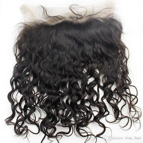 Raw Indian Wavy Lace Frontal