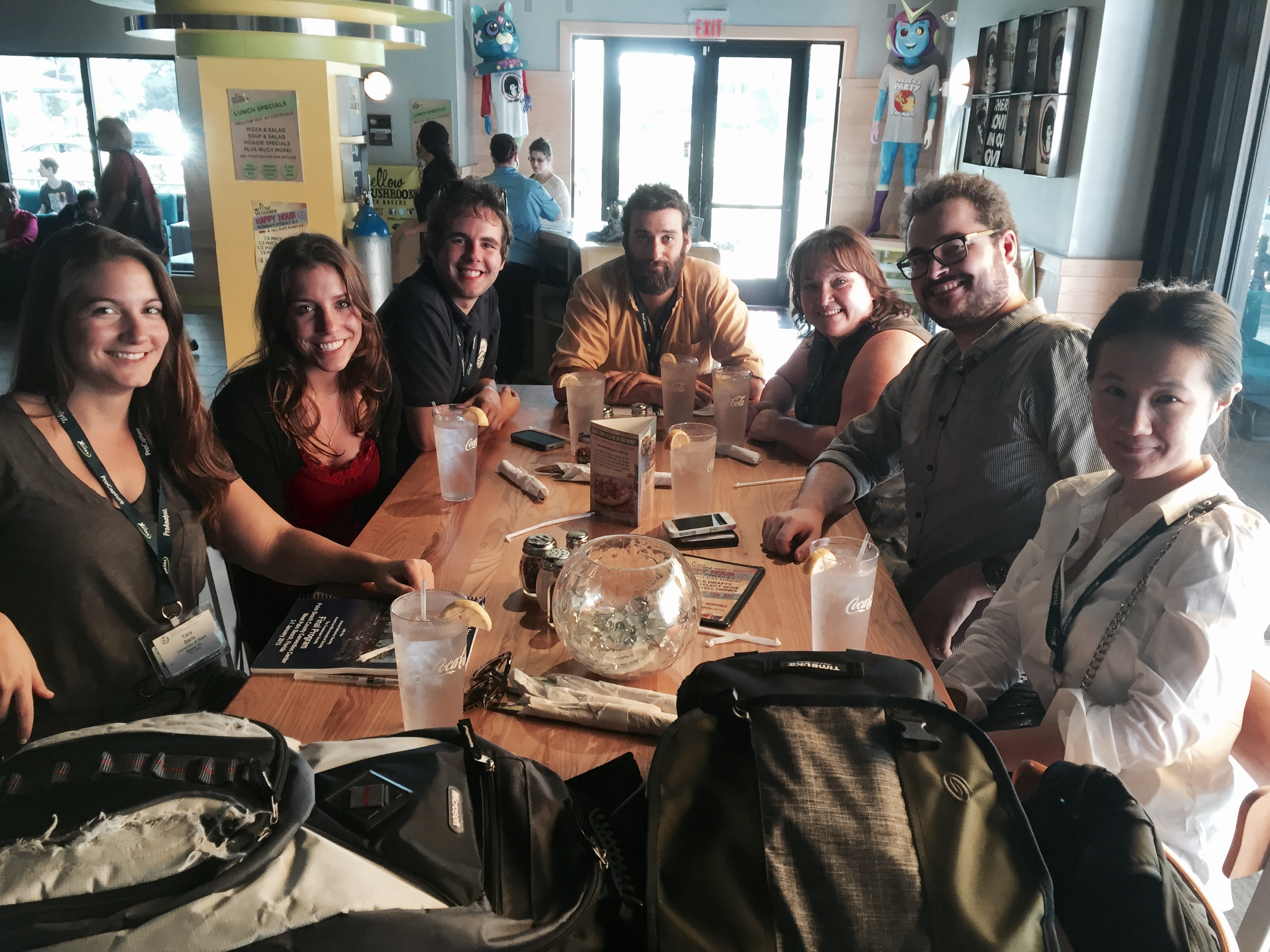 lunch at SICB 2015