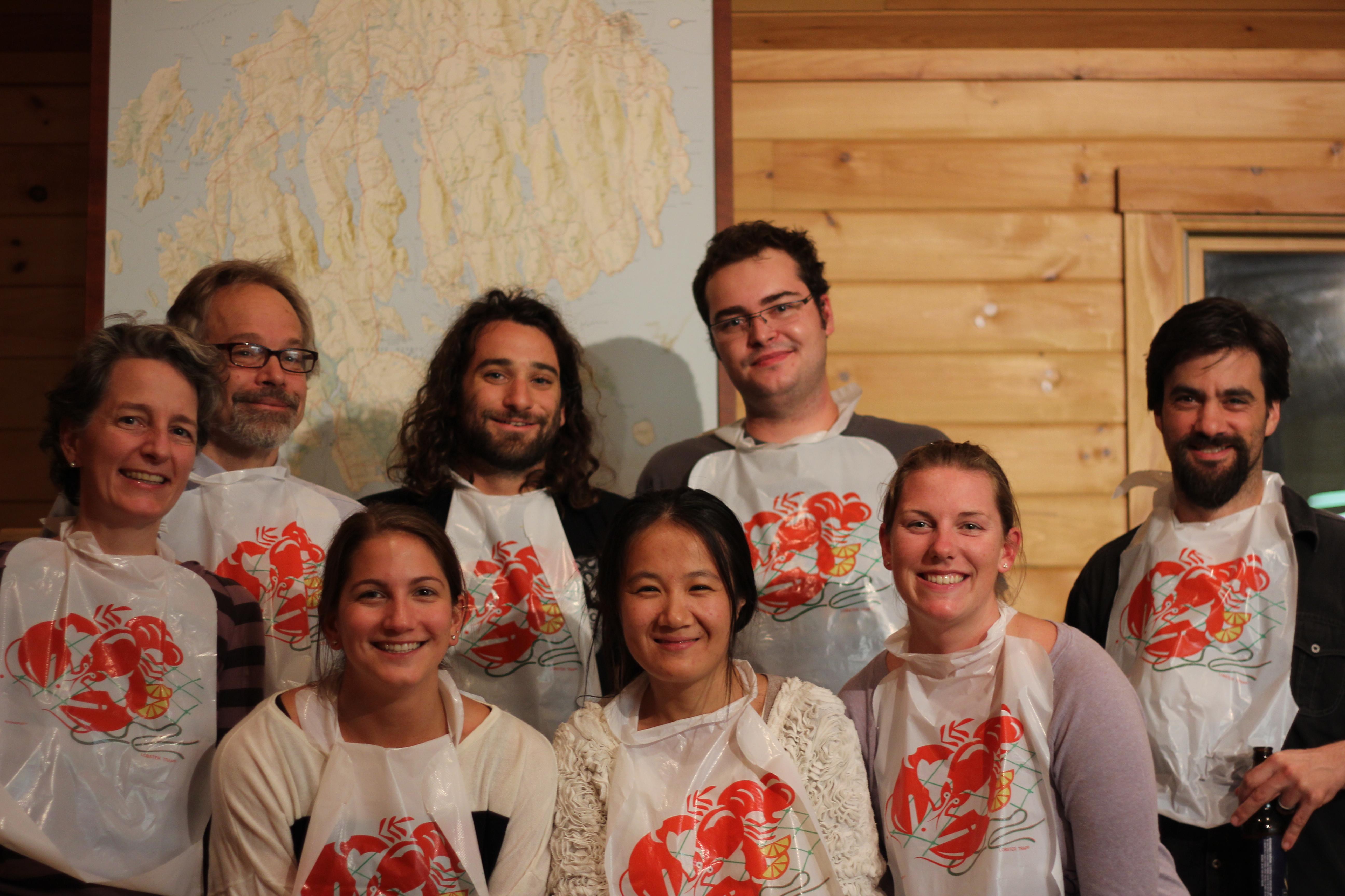 Our Lab and Collaborators - circa 2012