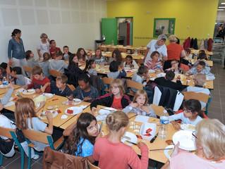 Réception du Restaurant scolaire J. BREL