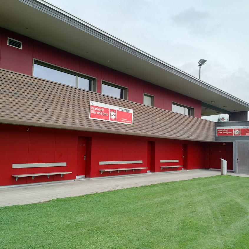 Sportplatz Winkel EVVA Xesar Zutrittskontrolle