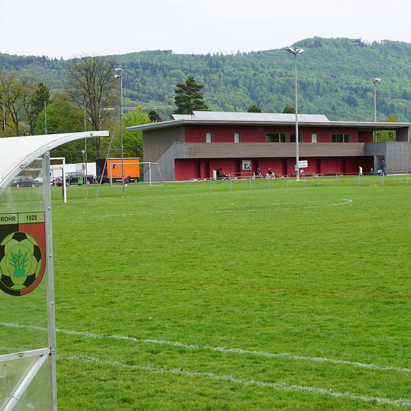 Sportplatz Winkel FC Rohr