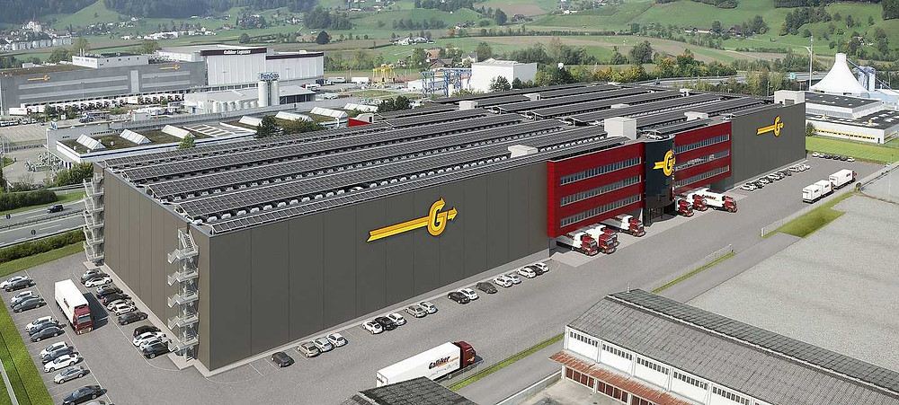 Logistikcenter 4 - Galliker Transport AG - exos Zutrittskontrolle