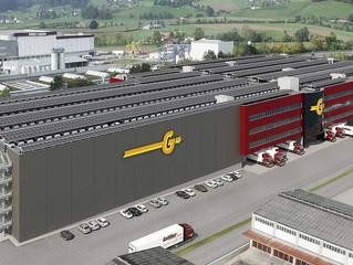Kaba exos Zutrittskontrolle für den Logistikcenter 4 Neubau der Galliker Transport AG