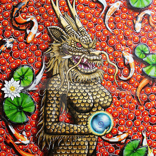 The Golden Dragon Ltd Ed Fine Art Print