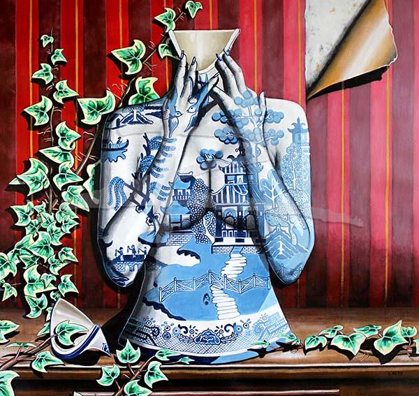 Blue Willow Ltd Ed Fine Art Print