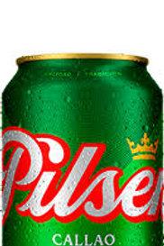 Cerveza Pilsen en lata de 350 ml