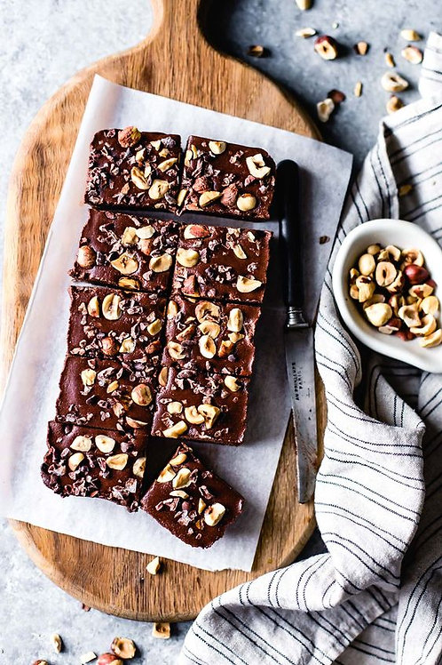 Brownies de chocolate orgánico Amazona 70%