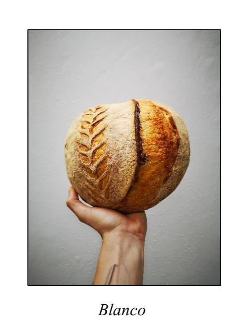 Pan artesanal campesino blanco 750gm