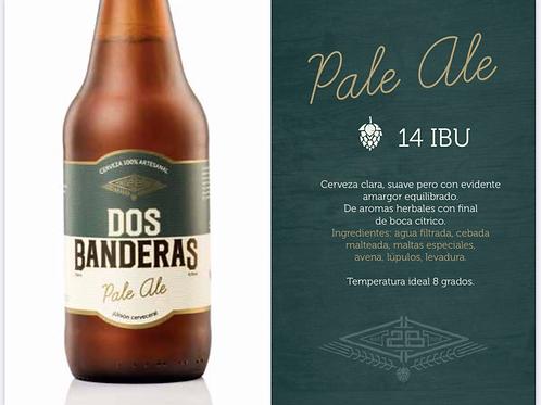 Cerveza Artesanal - Pale Ale Dos Banderas