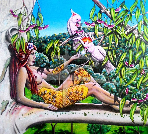 The Creation of Cockatoos Ltd Ed Fine Art Print