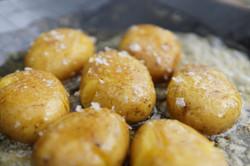 Honig-Kartoffeln