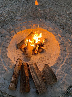 Tipi Feuerstelle