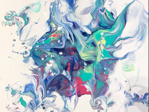Intro to Acrylic Paint Pouring Workshop: May 15, 2021