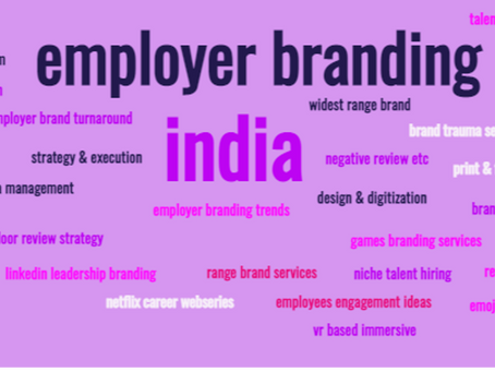 50+ WORLD-CLASS SERVICES THAT YOU EXPECT FROM YOUR EMPLOYER BRANDING AGENCY, CONSULTANCY OR PARTNER