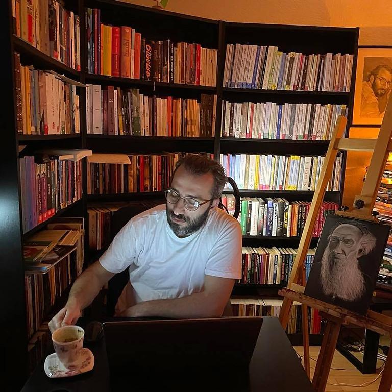 Finjan Kulturcafe/ Litteratur og middag, mød den syriske forfætter Khalil Jabo