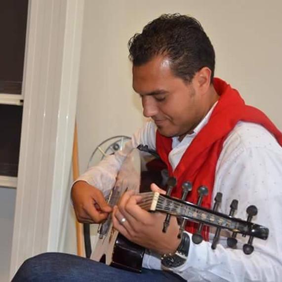 Finjan Kulturcafe/ Sangeren Adel Najjari