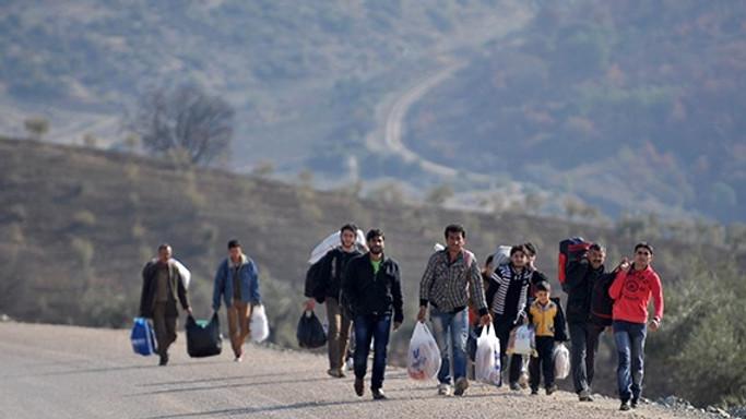 Et møde med syriske flygtninge om hjemsendelse