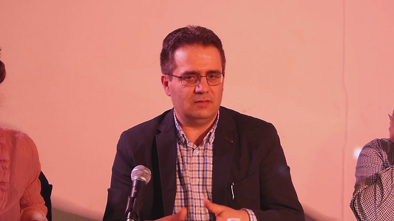 Finjan Kulturcafe/ Integration And Identity, talk by Housamedden Darwish