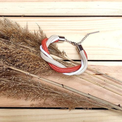 Antelope kötél karkötő - vörös