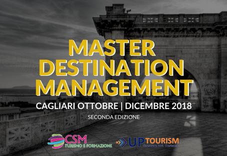 Master in Destination Management - Seconda Edizione a Cagliari