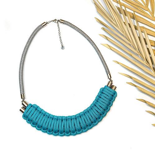 Kaya nyaklánc - világos türkiz