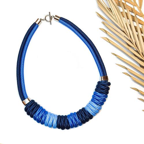 Nara nyaklánc - kék mix
