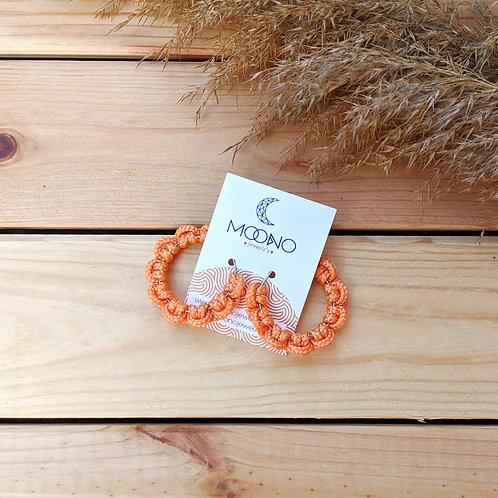 Flower 2. fülbevaló - narancs