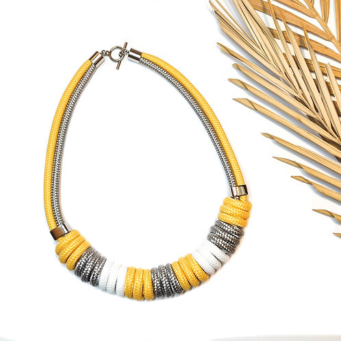Nara kötél nyaklánc - vanília