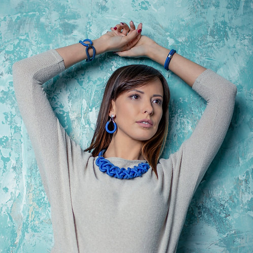 Ayla nyaklánc - középkék