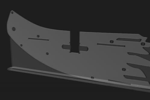RCexplorer Bicopter Sideplates