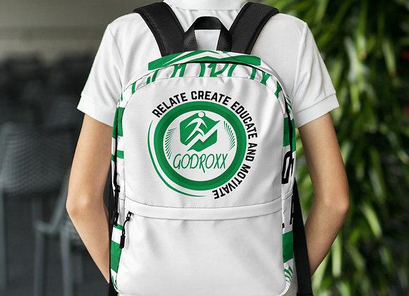 Godroxx relate create educate motivate all purpose backpack