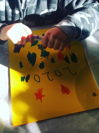 Art Notebooks at NYE Bash