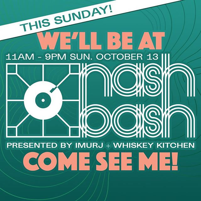 We're at Nash Bash with today! Come chec