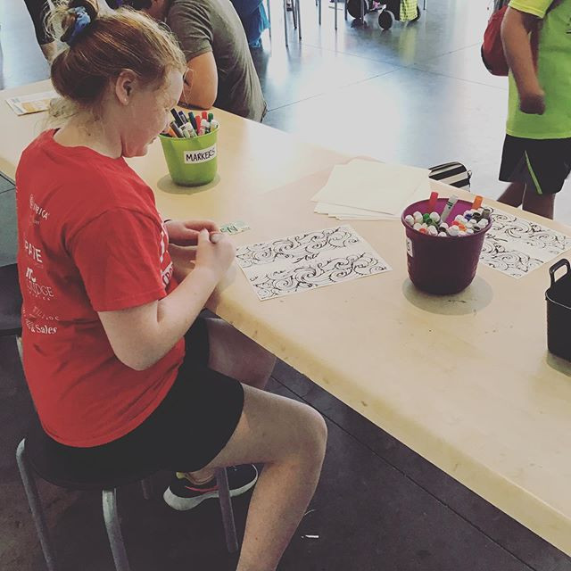 Our Creation Station led by artist _geor