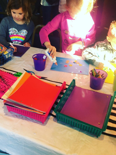 Youth create custom journals at Transfer