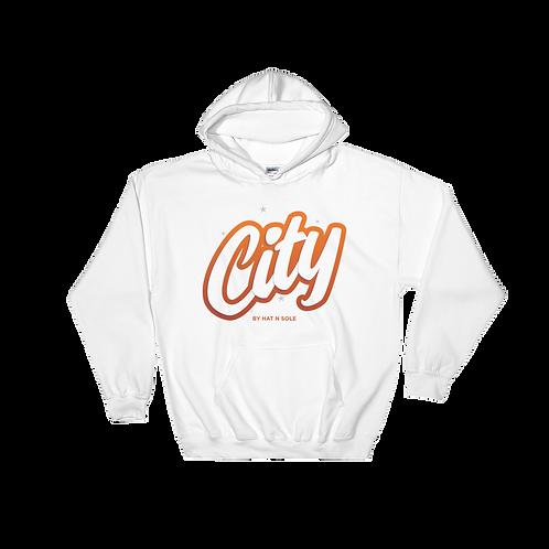 City OT Orange hoodie