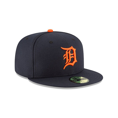 Detroit Tigers New Era Navy Authentic Collection Road 5950