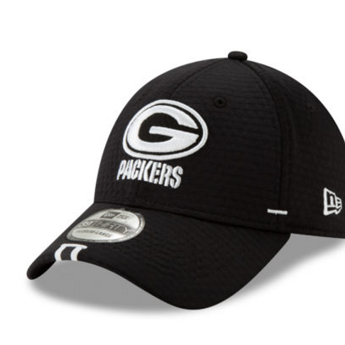 Green Bay Packers Black 2019 Official NFL Training Camp 39THIRTY Hat