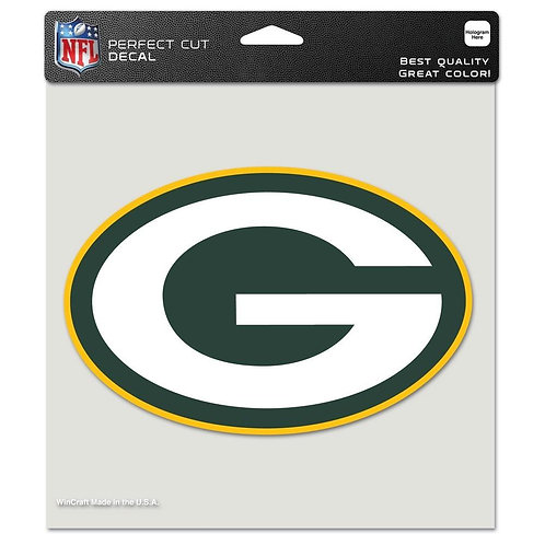 "Green Bay Packers 8""X8"" Decal"