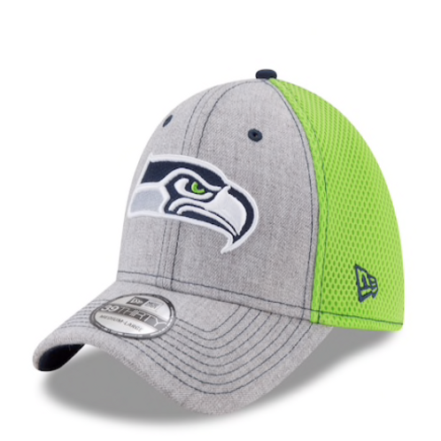 Seattle Seahawks 39THIRTY Heather Neo Fitted Cap
