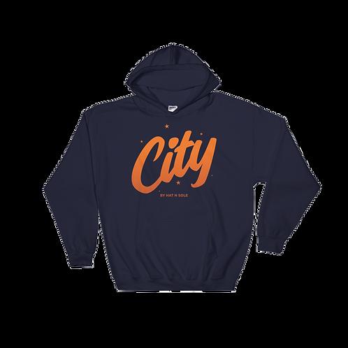 City Burn Orange Hoodie