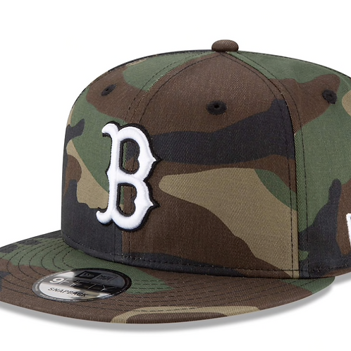 Boston Red Sox New Era Camo Basic 9FIFTY Snapback Hat
