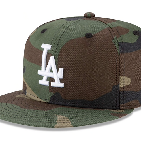 Los Angeles Dodgers New Era Camo Basic 9FIFTY Snapback Hat