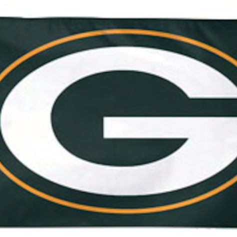 Green Bay Packers Deluxe Flag 3x5