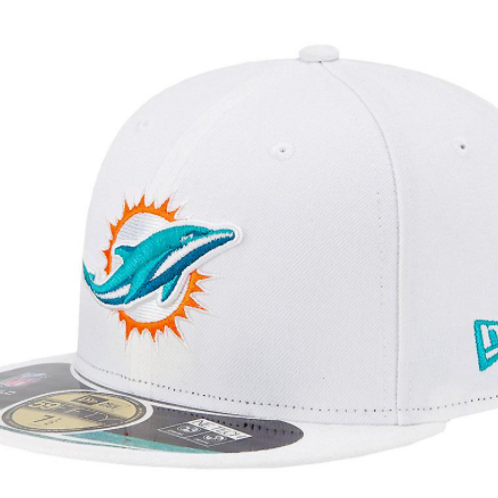 Miami Dolphins ONFIELD 59Fifty New Era