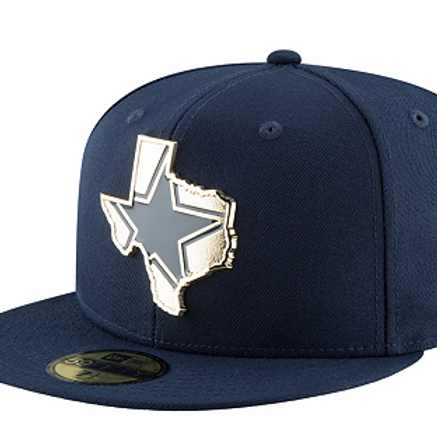 Dallas Cowboys Golden State Logo(LC) 59Fifty New Era